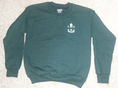 Pullover Sweatshirt w/ Logo (forest green) - Adult sizes
