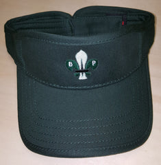 Dark Green Visor w/ BPSA-US Logo
