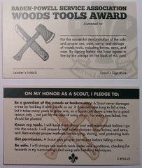 Pathfinder Woods Tools Award