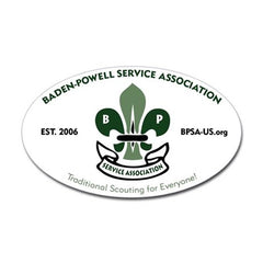 BPSA Oval Sticker