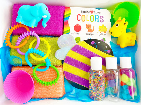 Playful Colors Sensory Kit  *Toddler Friendly*