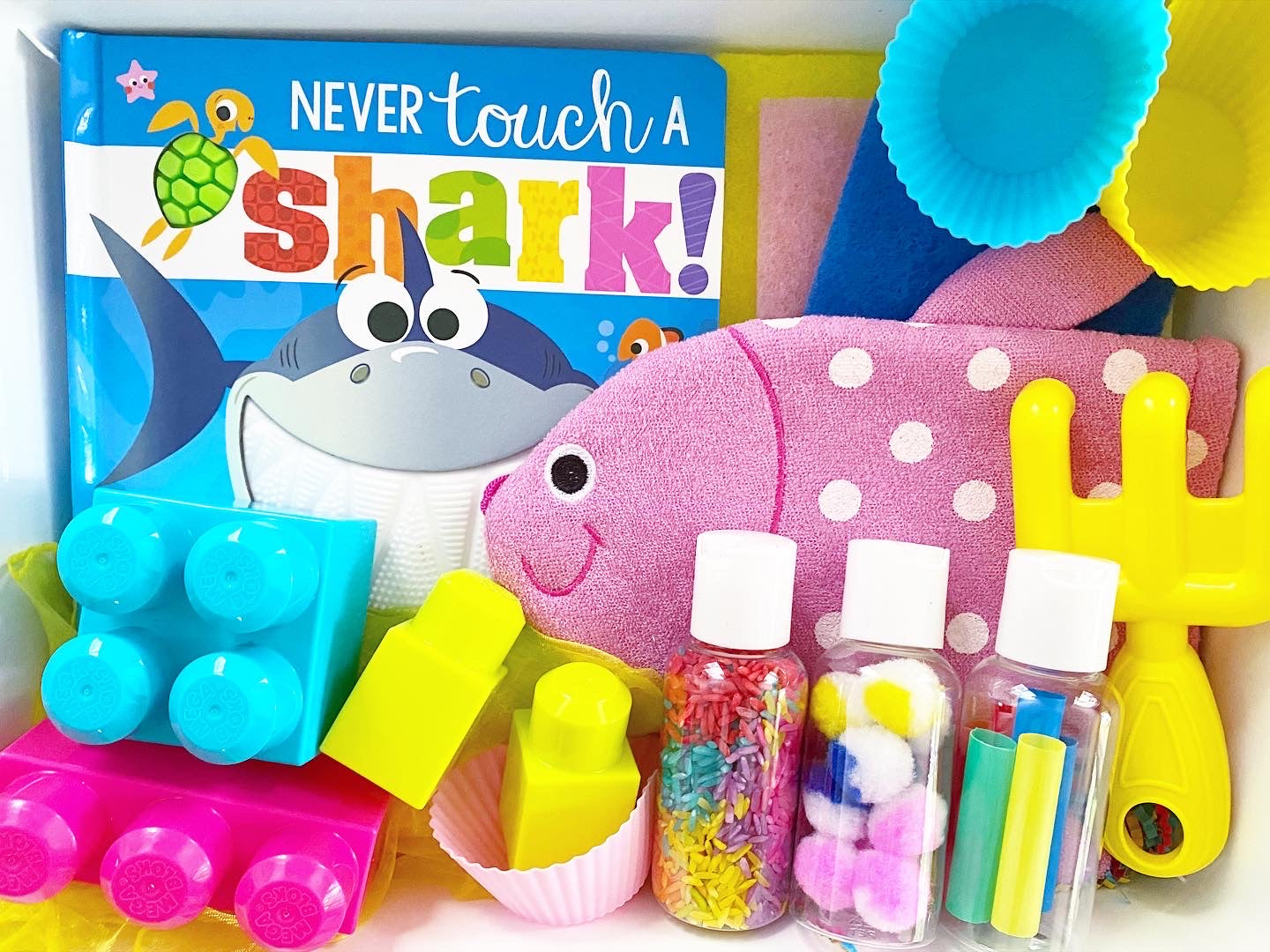 Sea Creature Sensory Kit *Toddler Friendly*