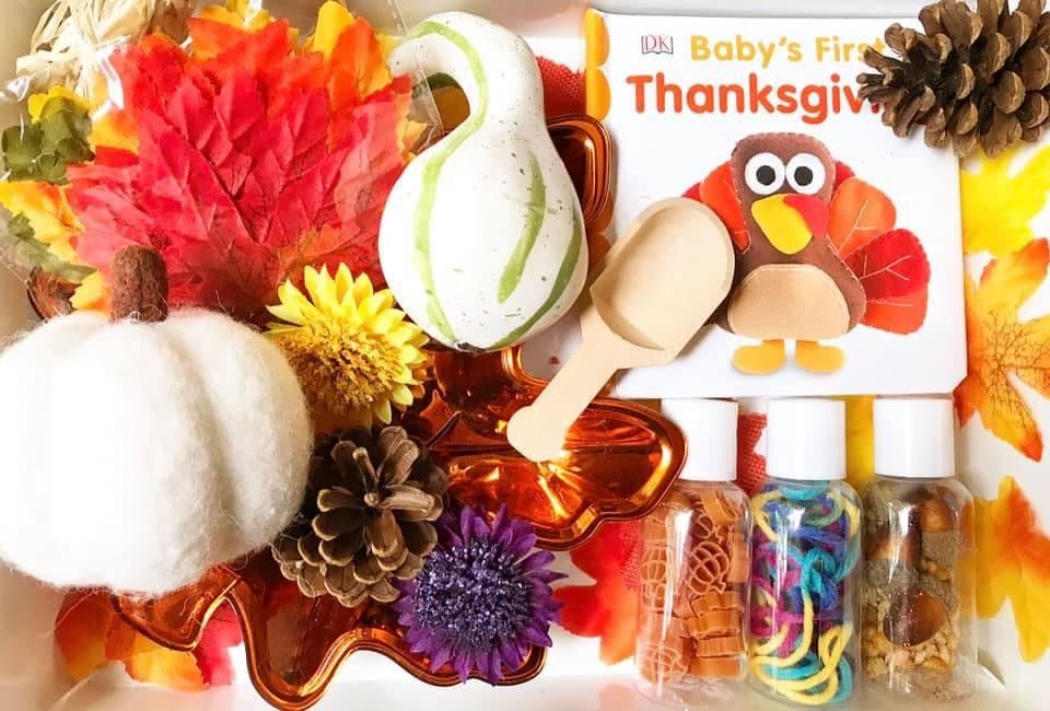 Fall Sensory Kit *Toddler Friendly*