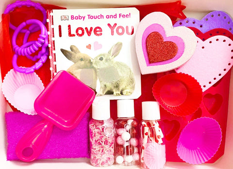 Valentine's Day Sensory Kit *Toddler Friendly*