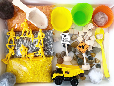 Construction Sensory Kit