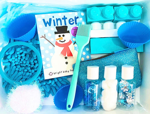 Winter Sensory Kit *Toddler Friendly*