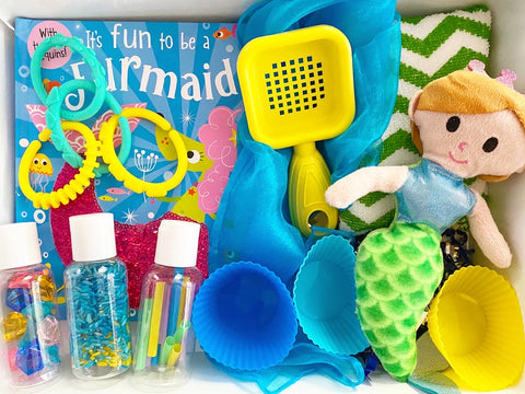 Mermaid Sensory Kit *Toddler Friendly*