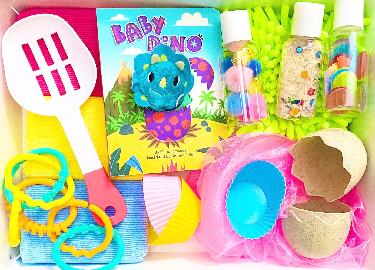 Baby Dino Sensory Kit *Toddler Friendly*