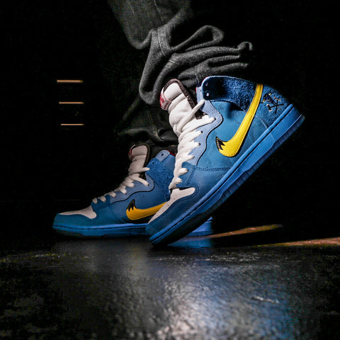 official photos a8c7d a76f9 Nike Dunk High Premium SB  Familia  A Footwear Folk Tale Nike SB has teamed  up with Familia Skate shop, based in Minneapolis, USA. They are bringing an  epic ...