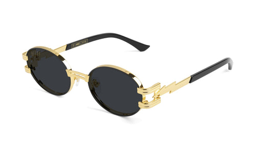 st james bolt 24k gold sunglasses