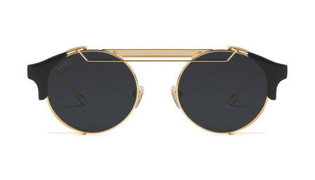 9five 88 black and 24k gold sunglasses