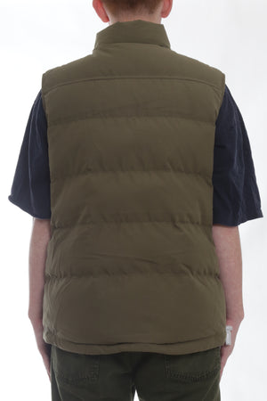 Huffer Classic Down Vest Olive