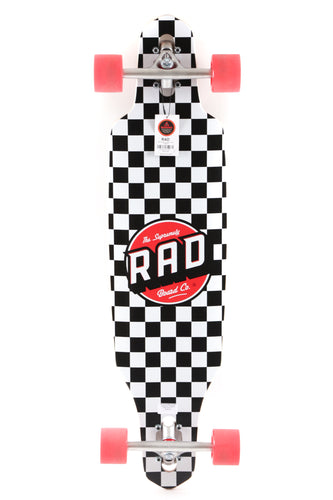 Rad Drop Through Mid Checkers 36'' Complete