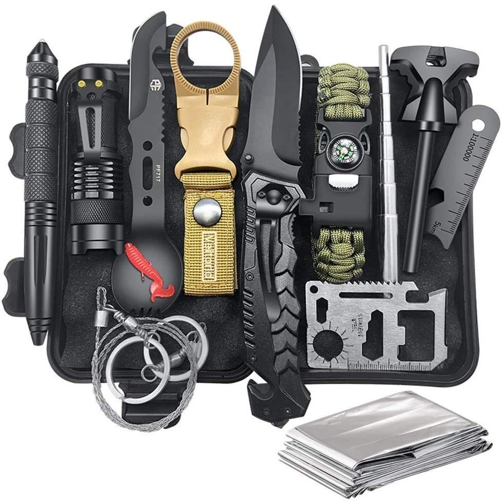12 in 1 Survival Kit - oddgifts.com