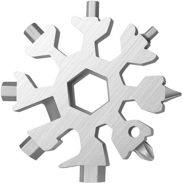 18 in 1 Snowflake Multi Tool - oddgifts.com