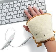 USB Toast Hand Warmers - OddGifts.com