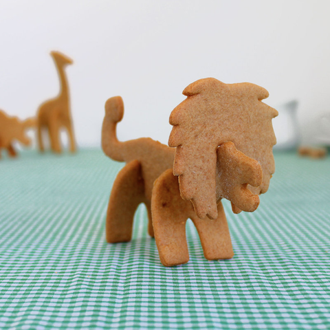 3D Safari Cookie Cutters - oddgifts.com