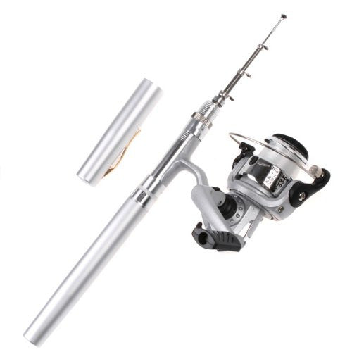 Small Fishing Pole in a Pen - OddGifts.com