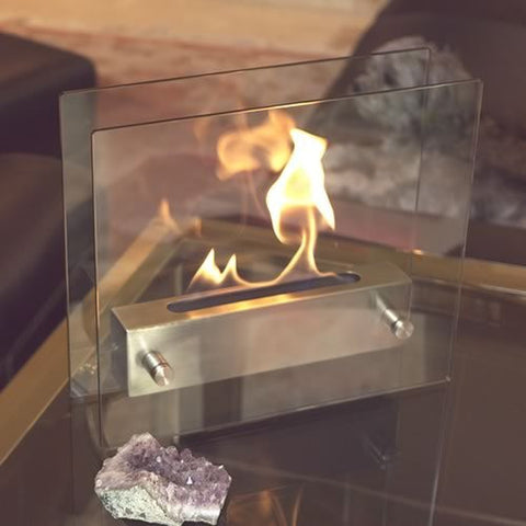 Tabletop Fireplace - OddGifts.com