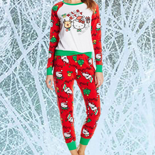 Hello Kitty Ugly Christmas Pajamas - OddGifts.com