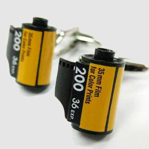 Camera Film Cufflinks - OddGifts.com