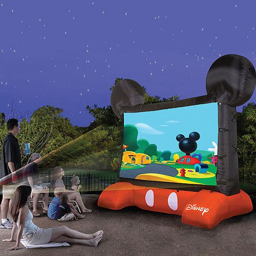 Disney Inflatable Movie Screen - OddGifts.com