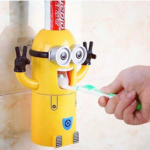 Minion Toothpaste Dispenser - OddGifts.com