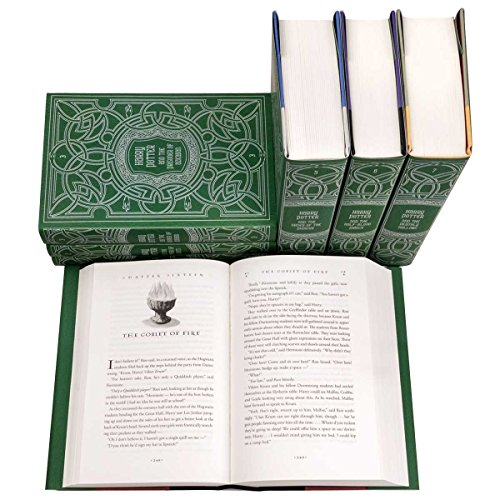 Harry Potter House Trunk Book Set - OddGifts.com