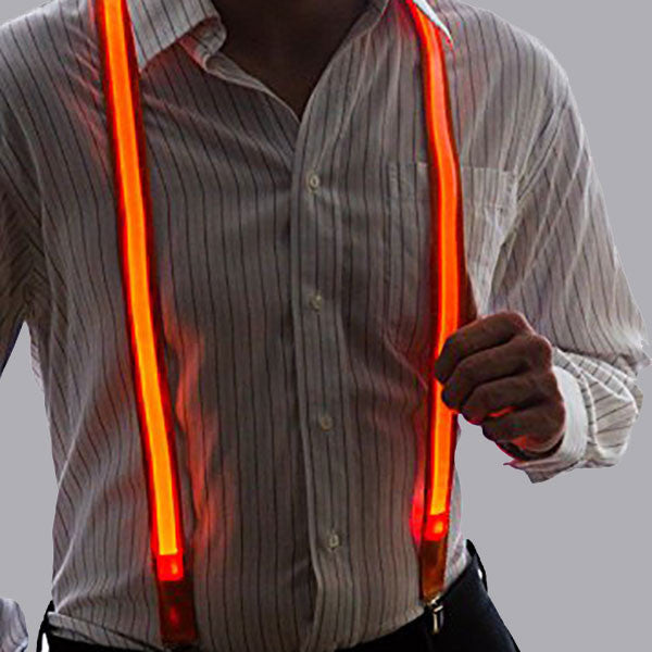 Light Up Party Suspenders - OddGifts.com