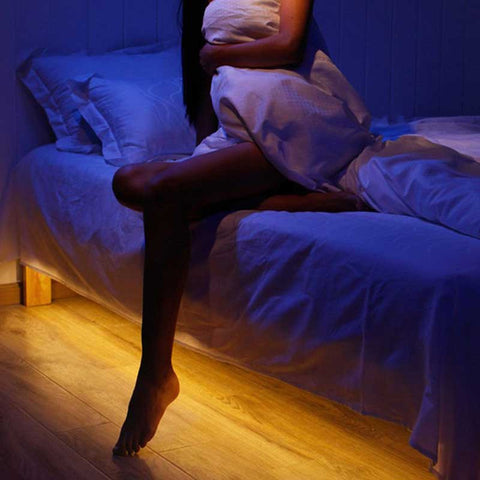 Motion Activated Bed Lights - OddGifts.com