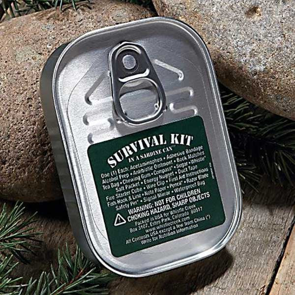 Survival Kit Sardine Can - OddGifts.com