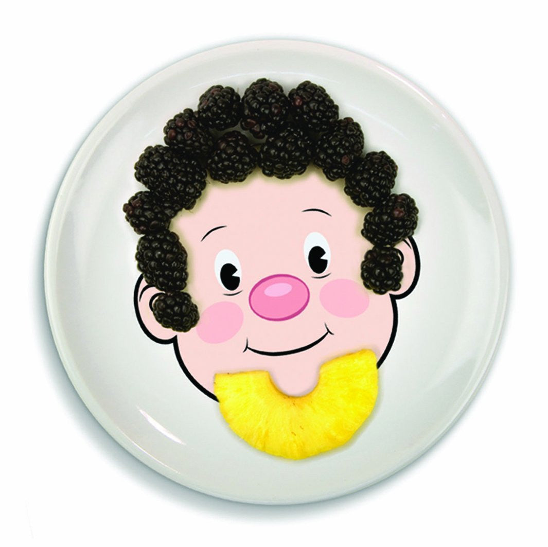 Food Face Kids Plates - OddGifts.com