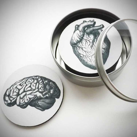 Anatomy Coasters - OddGifts.com