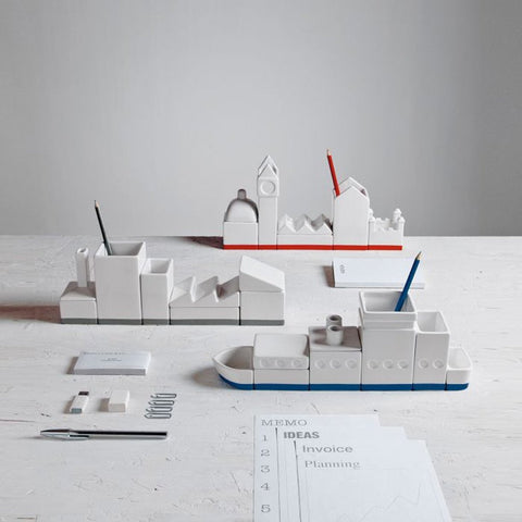 City Desk Organizer - OddGifts.com