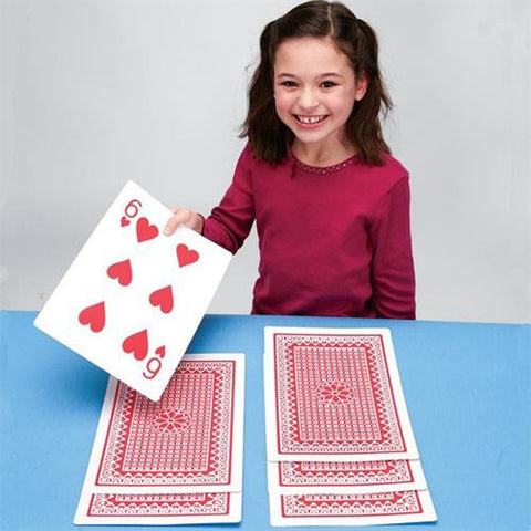 Giant Deck Of  Playing Cards - OddGifts.com
