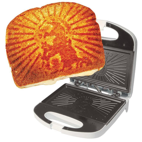 Grilled Cheesus Sandwich Press - OddGifts.com