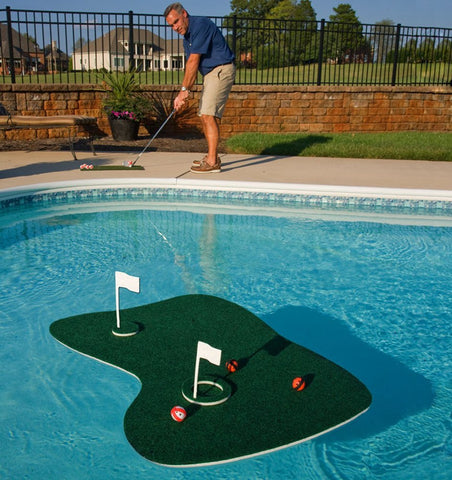 Floating Golf Putting Green - OddGifts.com