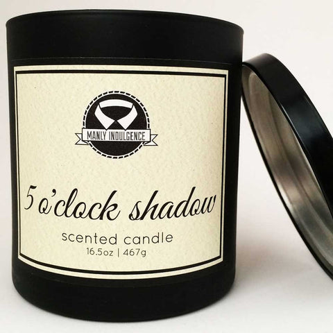 5 O'Clock Shadow Candle - OddGifts.com