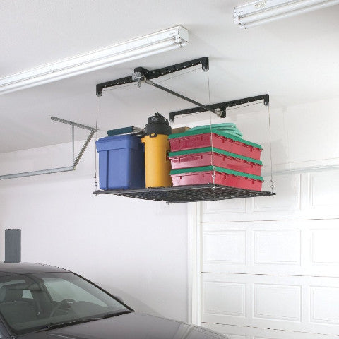 Pulley System Storage Rack For Garage - OddGifts.com