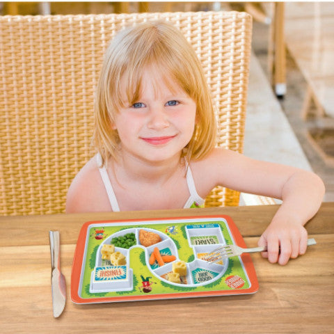 Kids Dinner Winner Plate - OddGifts.com