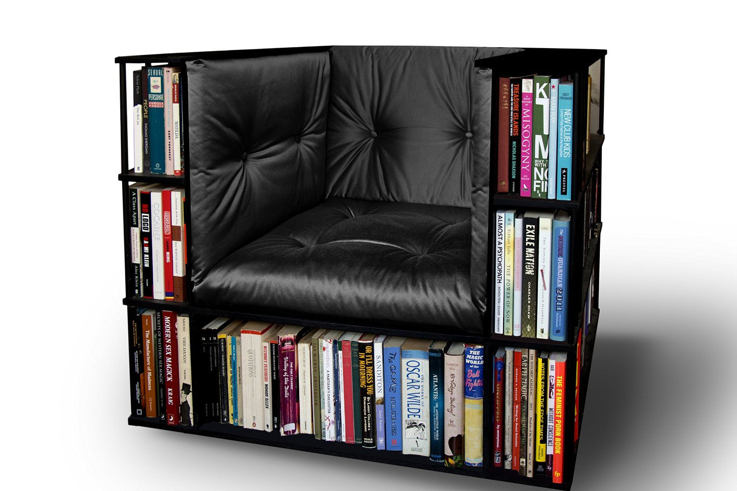 Library Bookcase Chair - OddGifts.com