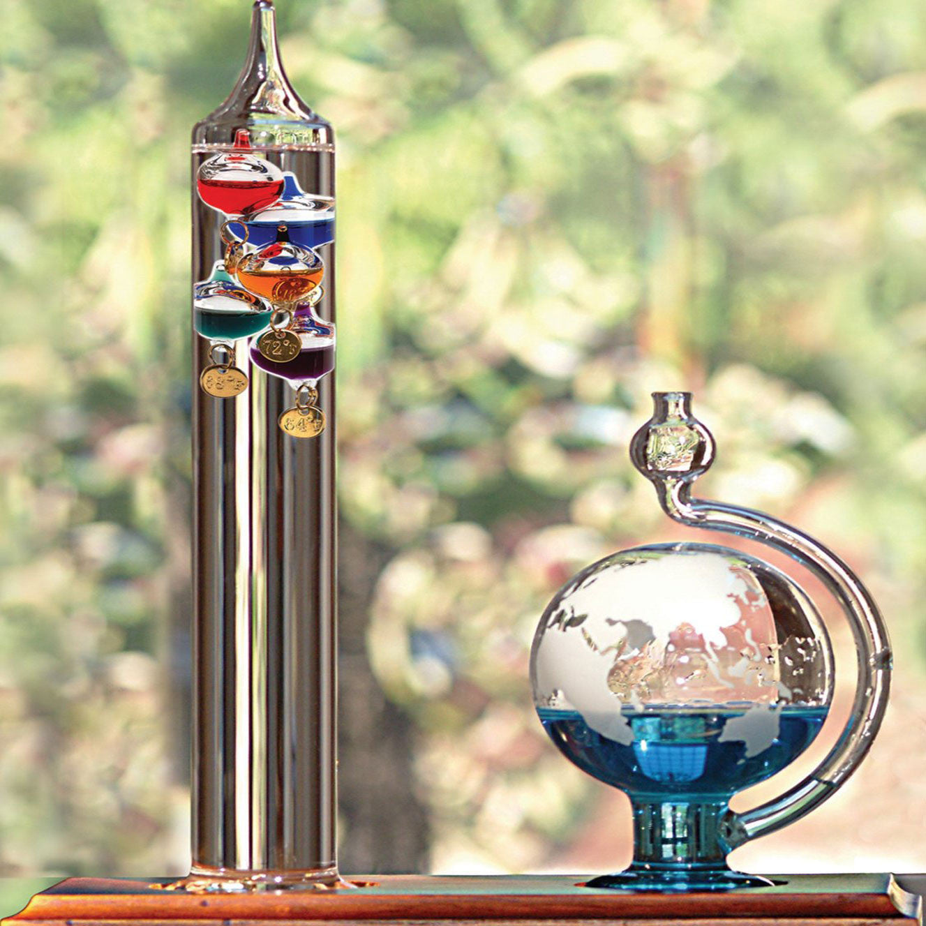 Galileo Thermometer - OddGifts.com