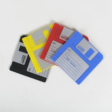 Floppy Disk Coasters - OddGifts.com