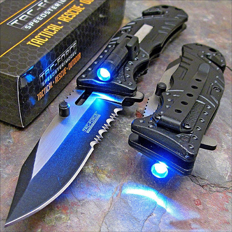 LED Tactical Knife - OddGifts.com