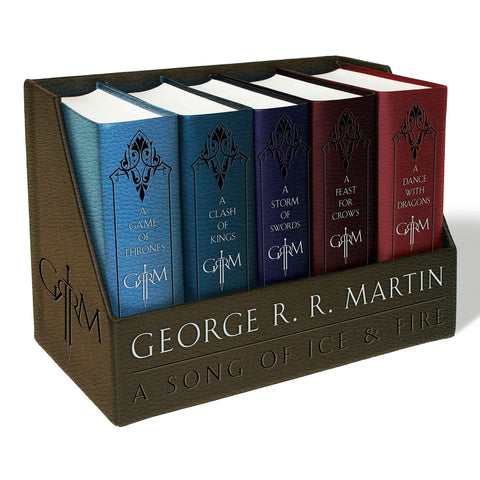 A Game Of Thrones Leather Cloth Book Set - oddgifts.com