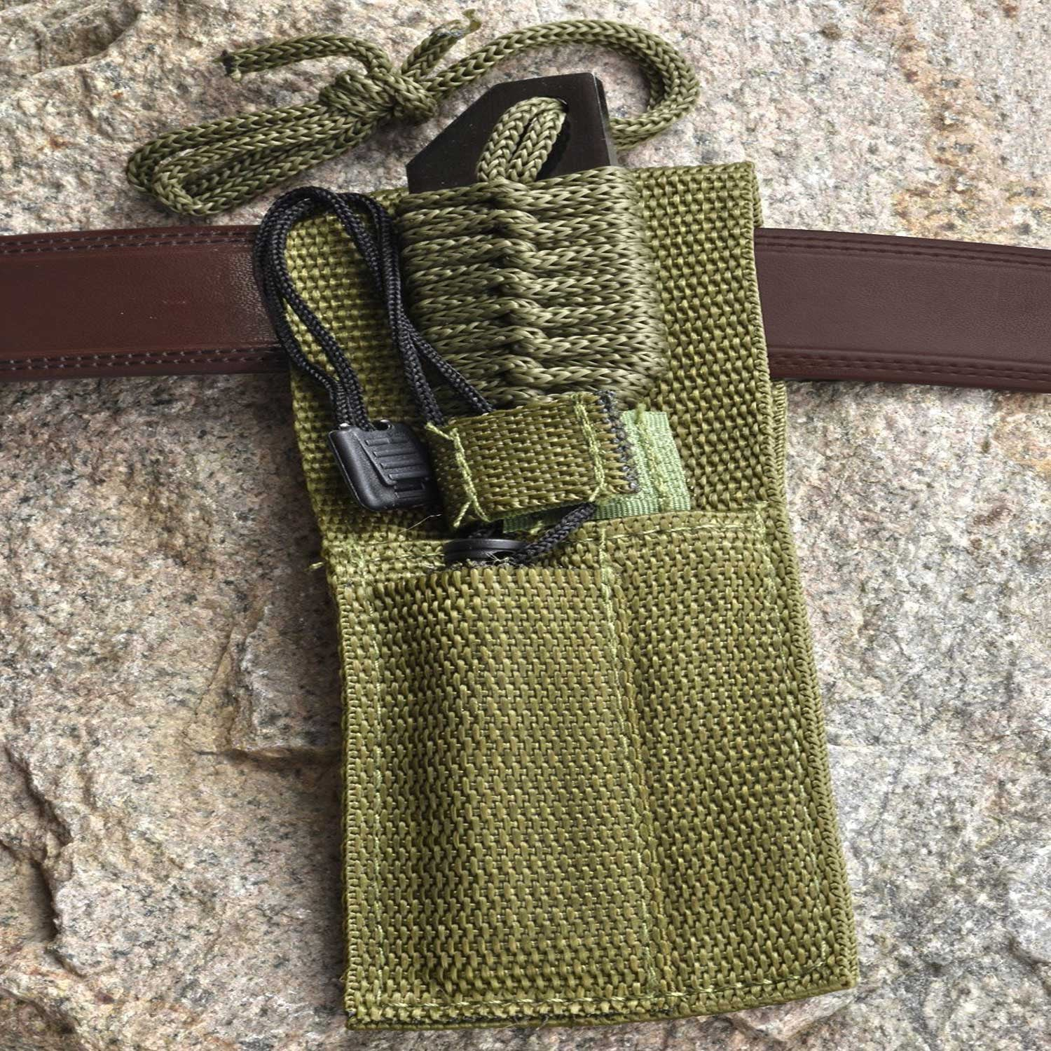 Tactical Knife With Fire Starter - OddGifts.com