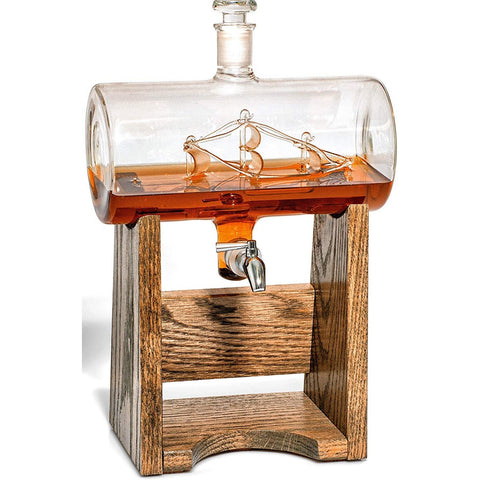Bourbon Whiskey Decanter - oddgifts.com