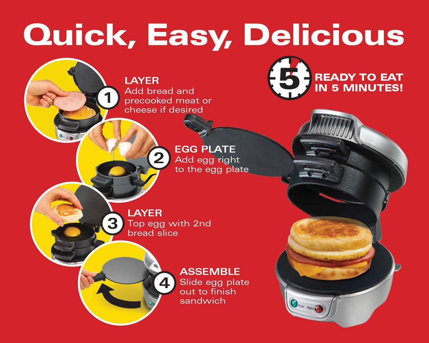 Breakfast Sandwich Maker - oddgifts.com