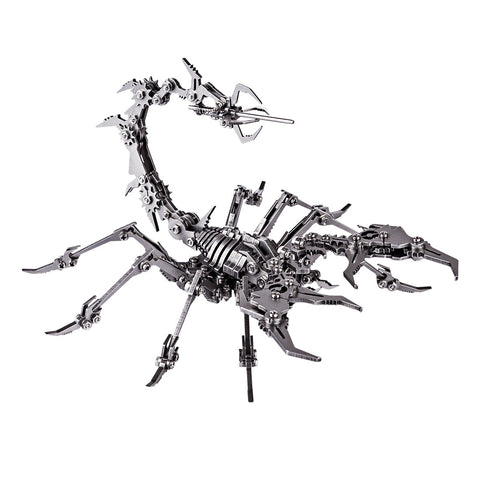 Buildable Metal Scorpion DIY Kit - oddgifts.com