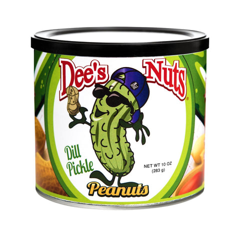 Dill Pickle Flavored Gourmet Peanuts - oddgifts.com